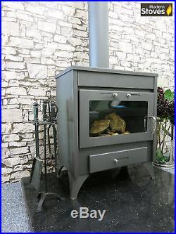 Modena 20kw Wood Burning Multi fuel, Wood Burner Modern Stoves