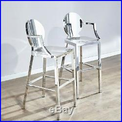 Miraculous Modern Luxury Kardashian Style Chrome Silver Stainless Steel Squirreltailoven Fun Painted Chair Ideas Images Squirreltailovenorg
