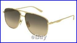 NEW Gucci Urban GG 0336S Sunglasses 001 Gold 100% AUTHENTIC