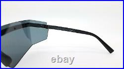 NEW Versace sunglasses EVERYWHERE VE2208 100987 45mm Black Grey AUTHENTIC Shield