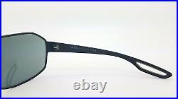 New Prada sunglasses PS52QS DG01A1 Black Grey AUTHENTIC Prada Sport Metal Shield