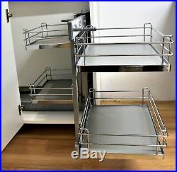 New Pull Out Blind Corner Cargo Optimiser Magic Corner Storage Kitchen Tmy