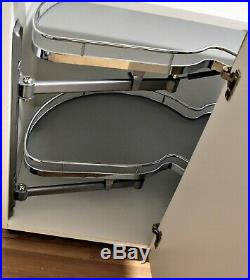 New Pull Out Magic Corner Cargo Soft Close Kitchen Optimiser Peanut Type Sale