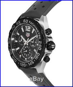 New Tag Heuer Formula 1 Quartz Chronograph Black Men's Watch CAZ1010. FT8024