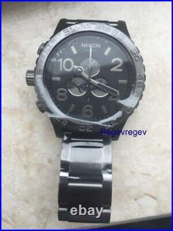 Nixon Watch 51-30 Chrono Men's A083-632 51MM New Dial A083632 Gunmetal Genuine