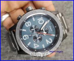 Nixon Watch A0832340 Chrono Grey Black/Steel New 51-30 w BOX A083-2340 Genuine