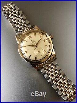 Omega Seamaster 2576 343RG Bumper Chronometre Chronometer Bi Metal