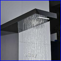 Onyzpily Shower Panel Column Tower with Massage Body Jets Bathroom Mixer Unit UK