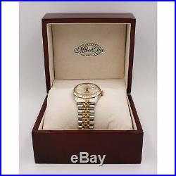 Pre-Owned Rolex Men's Bi-Metal DateJust Watch. 16013