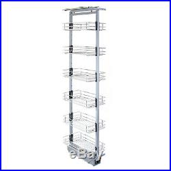 Pull Out Kitchen Larder Soft Close Slide Out Storage Baskets 1700-1950mm