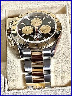 ROLEX Daytona 116523 Paul Newman Cosmograph bi-metal Rare Factory dial Option