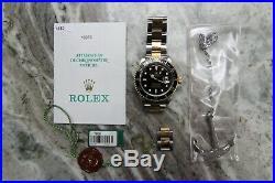Rolex 16613 Submariner Bi Metal Gold & Stainless Steel FULL SET B&P