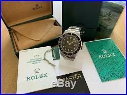 Rolex Bi Metal Gmt-master 2 16713 Complete Set 2000