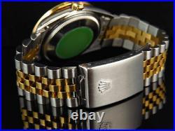 Rolex Datejust Two Tone 36MM 18K/ Steel 16013 White MOP Diamond Watch 2.5 Ct