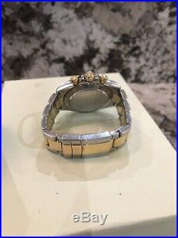 Rolex Daytona Chronograph 116523 Gold Steel bi-metal bracelet Mens watch + Box