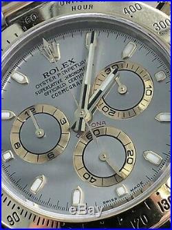 Rolex Daytona Chronograph 116523 Rolesor Steel Bi-Metal 18K Gold Steel Bracelet