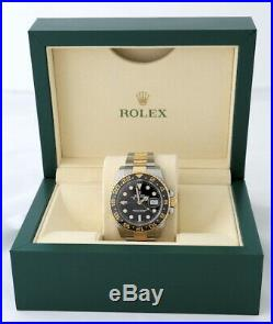 Rolex GMT Master 2 116713LN Automatic Chronometer GMT Bi-Metal Watch 2016