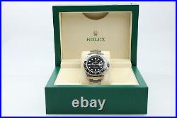 Rolex GMT Master II 2 116710 Stainless Steel Watch Box & Warranty 2014