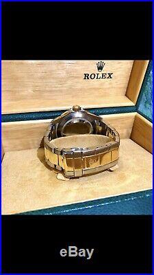 Rolex Submariner Blue Bi Metal 18k Gold & Stainless Steel-FULL SET BOX & PAPERS