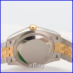 Rolex Watch Men's 36mm Datejust 126233 Steel & 18K Gold Champagne Index Dial