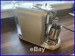Sage Nespresso Creatista Coffee Machine Royal Champagne