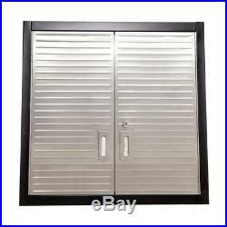 Seville Classics 9 Piece Garage Storage System S/S Workbench & Steel Cabinets