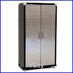 Seville HD 4 Piece Standard Garage Storage System Storage Workbench + Cabinet