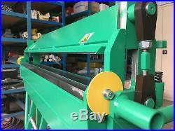 Sheet Metal Folder Bender Bending Machine 1200mm (47.2)/ 2mm- price excl. VAT