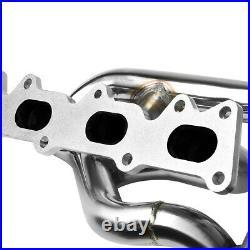 Stainless Steel Exhaust Header 95-08 W202/w203 Mercedes Benz M111 Kompressor
