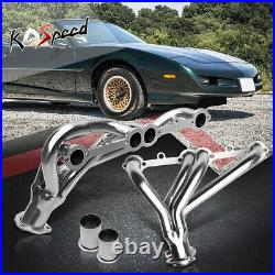 Stainless Steel Ss Exhaust Header Chevy 305-350 CID Small Block Shorty V8 8cyl