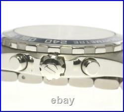 TAG HEUER Formula 1 CAZ1014 Chronograph Navy Dial Quartz Men's Watch 556808