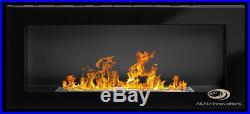 TUV certified BIO ETHANOL FIREPLACEEuphoria BLACK GLOSS 900x400+ free