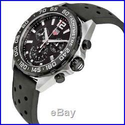 Tag Heuer Formula 1 Chronograph Black Dial Men's Watch CAZ1010. FT8024
