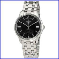 Tissot Automatics III Day Date Black Dial Men's Watch T065.930.11.051.00