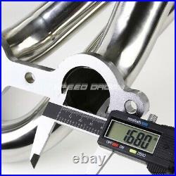 Tubular Exhaust Manifold Header Extractor+y-pipe Gmc Sierra Yukon/chevy Suburban