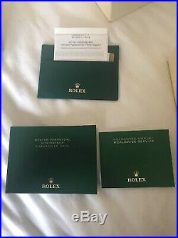 UNWORN July 2019 Rolex 116613LB Submariner Blue, Gold, Bi Metal, UK With Receipt