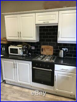 Used Kitchen Units Plus Hob, Oven, Sink and Taps