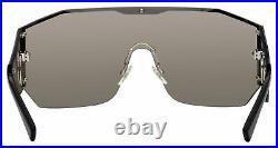 VERSACE VE2220 10006G Silver Mirror Men's Sunglasses 41 mm