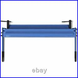 VidaXL Manually Operated Sheet Metal Folding Machine 630mm Workshop Folder