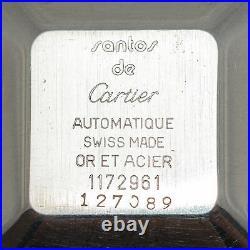 Vintage Cartier Santos de Cartier Tank' Watch