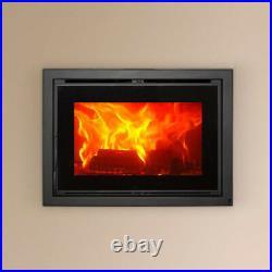 Wood Burning Inset Cassette Stove 720-S 12kw Wood Burning Multi Fuel Burner