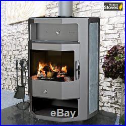 Wood Burning Multi fuel Cessina 12kw Wood Burner from Modern Stoves