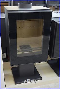 Wood Burning Stove 9/12 kW Fireplace Log Burner Top Flue Low Emissions