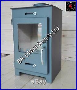 Wood Burning Stove Fireplace Log Burner Solid Fuel Top Flue 5 7 kw BlmSchV2