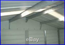 Yardmaster Shiplap Metal 8x6ft shed with sliding doors