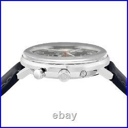Zeppelin Watch Hindenburg Navy Dial 7036-3 Men Japan NEW